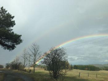 Regenbogen über Boverath; ?>