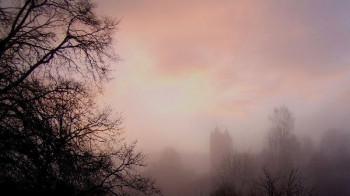 Bertradaburg im Nebel; ?>