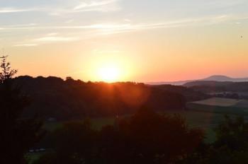 Sonnenaufgang in Esch; ?>
