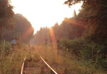 Eifelquerbahn in der Nähe von Höchstberg; ?>