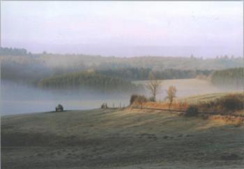 Sonnenaufgang in Üdersdorf; ?>